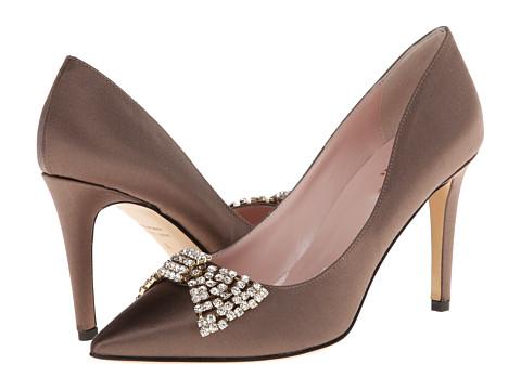 Kate Spade New York - Pezz (Taupe Satin) High Heels
