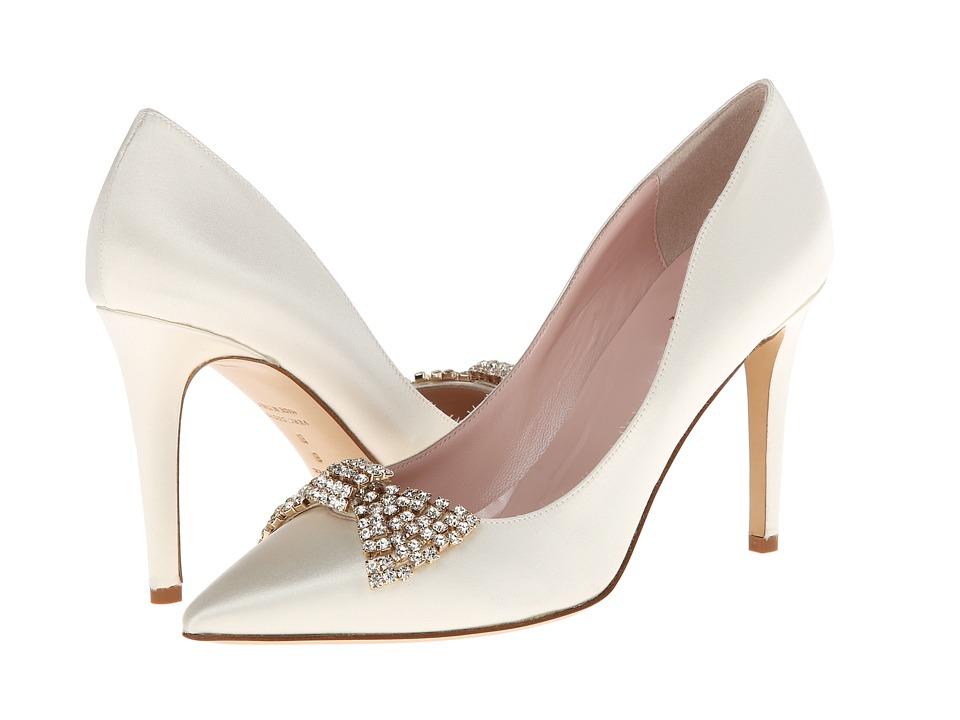 Kate Spade New York - Pezz (Ivory Satin) High Heels
