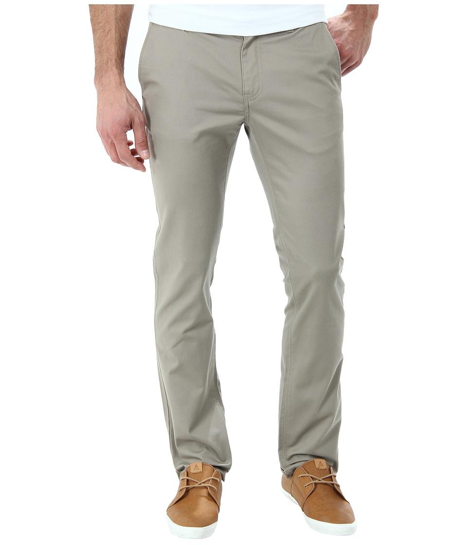 KR3W - K Slim Chino Pant (Dark Khaki) Men's Casual Pants