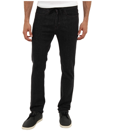 KR3W - K Slim Denim in Dark Black (Dark Black) Men
