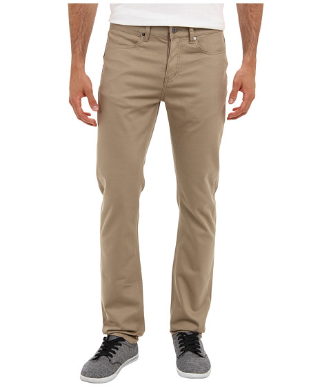KR3W - K Slim Five-Pocket Pant (Dark Khaki) Men's Casual Pants