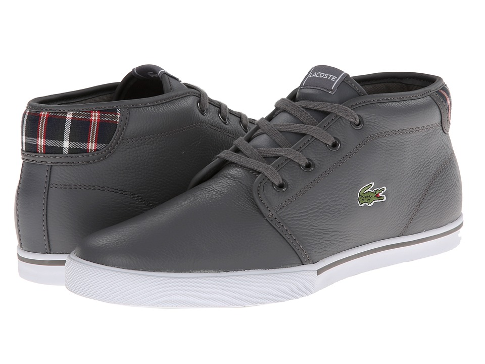Lacoste - Ampthill Lup (Dark Grey/Dark Grey) Men's Shoes