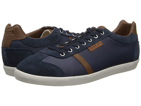 Lacoste - Brendel 6 (Dark Blue) Men's Lace up casual Shoes