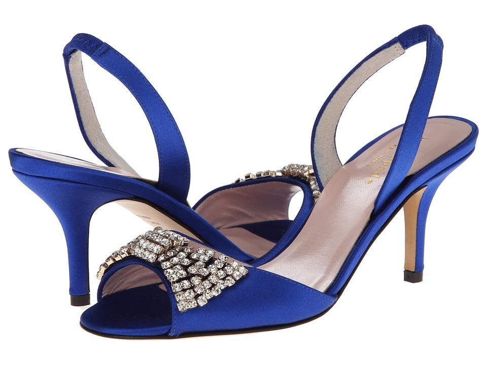 Kate Spade New York - Miva (Cobalt Satin) High Heels