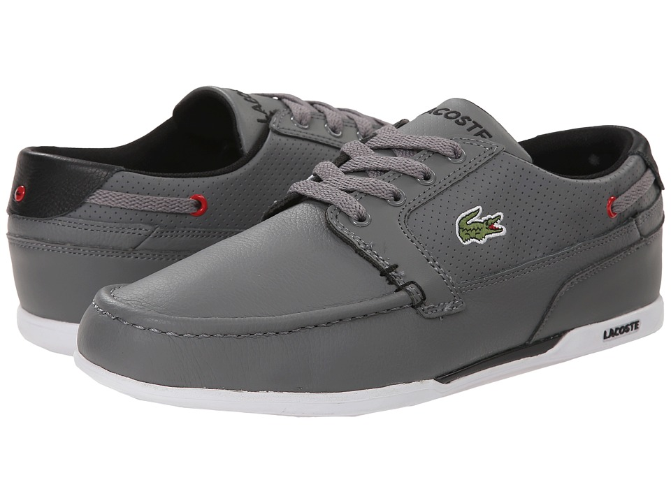 Lacoste - Dreyfus Qs1 (Grey/Black) Men's Shoes