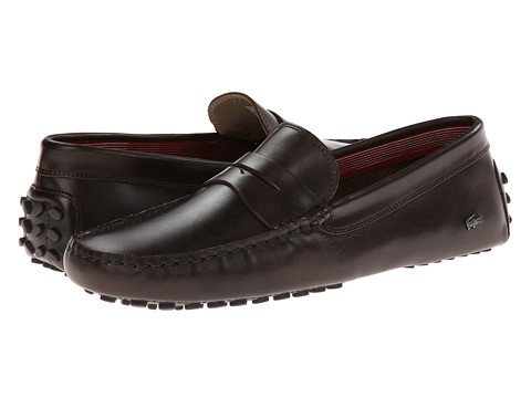 Lacoste - Concours 14 (Dark Brown) Men's Shoes