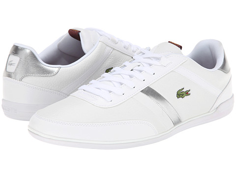 Lacoste - Giron Nal (White/White) Men's Shoes