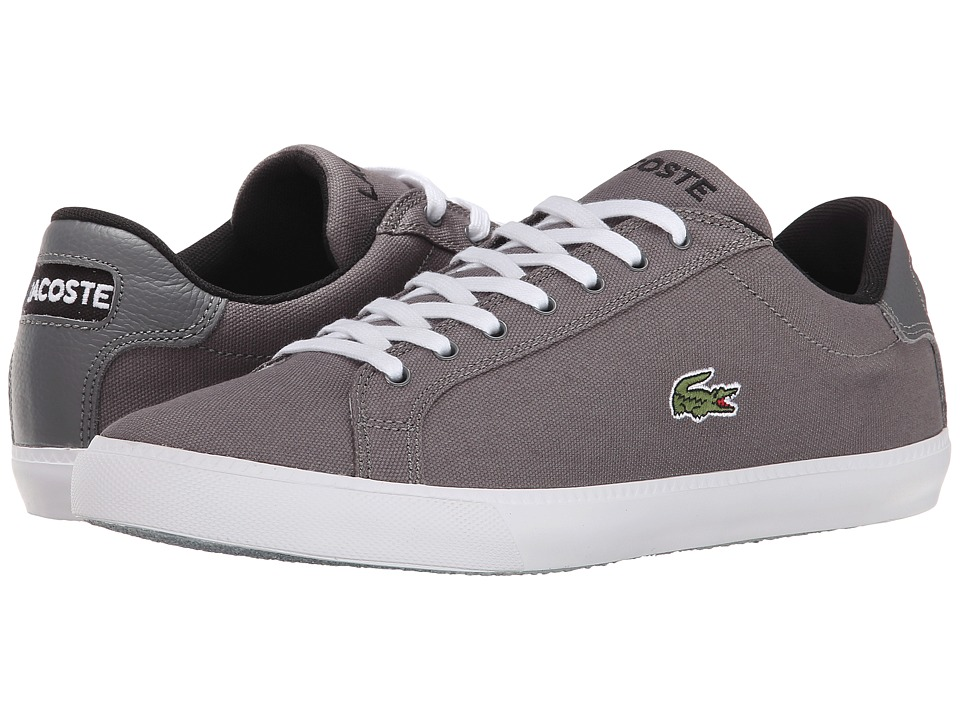 Lacoste - Graduate Vul (Dark Grey/White) Men's Shoes
