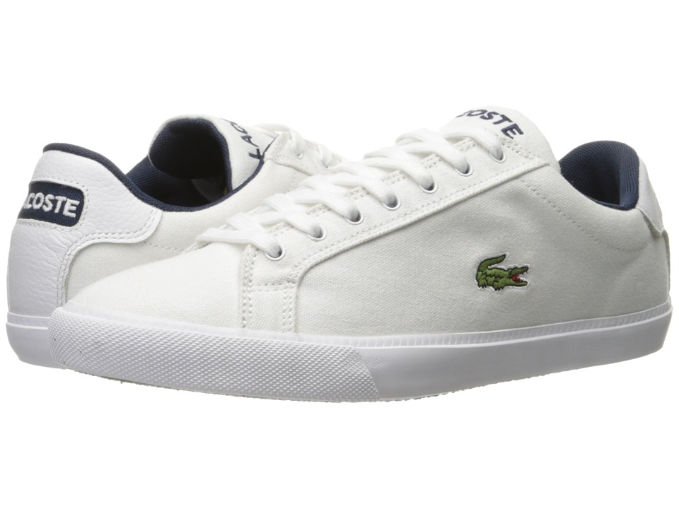 Lacoste Graduate Vul (White Navy) Men
