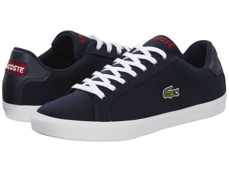 Lacoste Graduate Vul (Navy/Red) Men