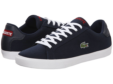 Lacoste - Graduate Vul (Navy/Red) Men's Shoes