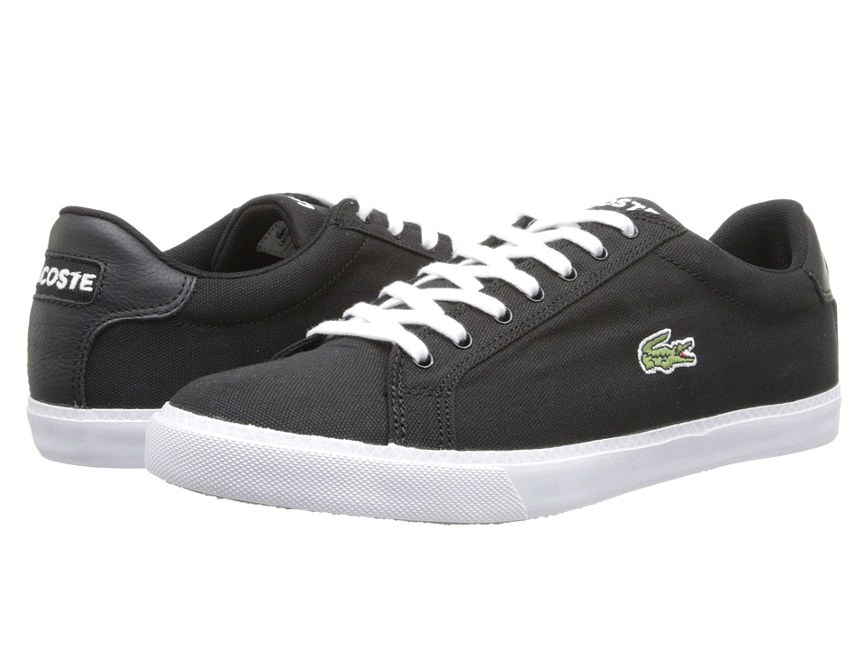 Lacoste - Graduate Vul (Black/White) Men's Shoes