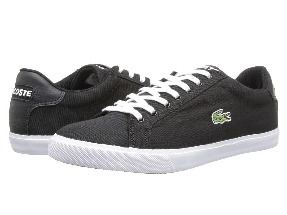 Lacoste - Graduate Vul (Black/White) Men's Shoes