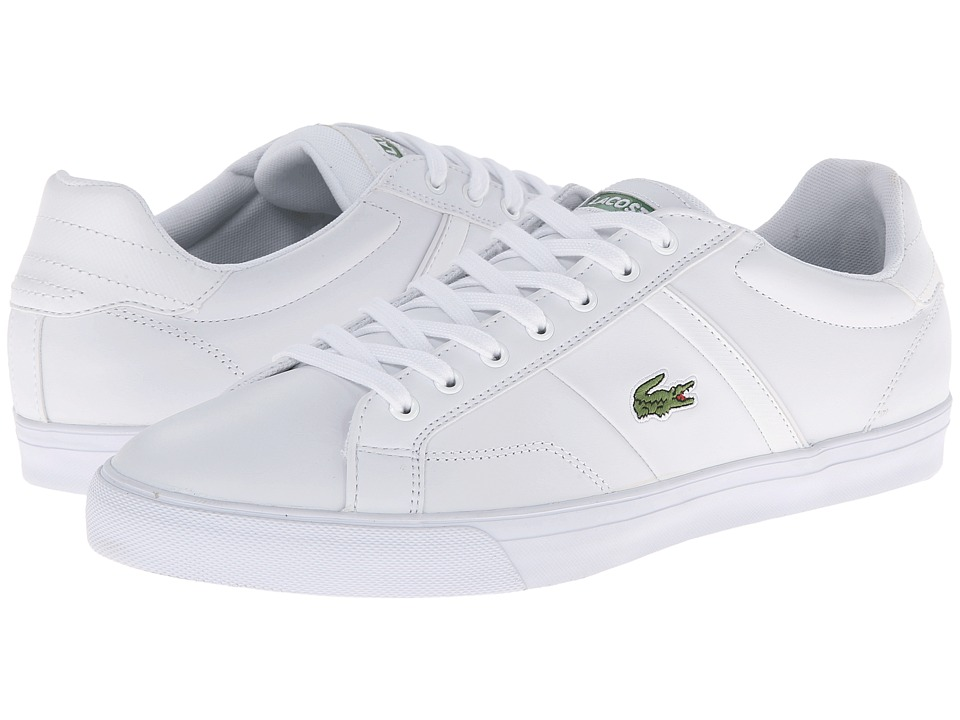 Lacoste - Fairlead Crt (White/White) Men's Shoes