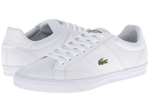 Lacoste - Fairlead Crt (White/White) Men