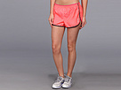 Reebok Run 2 Inch Dot Woven Short (Punch Pink S14-R) Women's Shorts