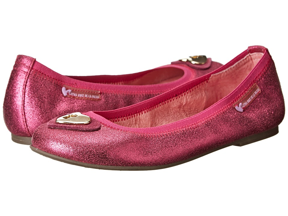 Agatha Ruiz De La Prada Kids - 141976 (Toddler/Little Kid/Big Kid) (Fuchsia) Girl's Shoes