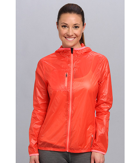 Reebok - DT Woven Jacket (Bright Cadmium F10-R) Women's Coat