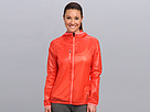 Reebok DT Woven Jacket (Bright Cadmium F10-R) Women's Coat