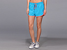 Reebok Workout Ready 4 Mesh Short (Blue Bomb S14-R) Women's Shorts
