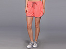 Reebok Workout Ready 4 Mesh Short (Punch Pink S14-R) Women's Shorts