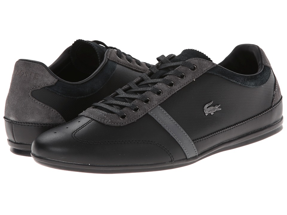 Lacoste - Misano 31 (Black/Grey) Men's Shoes