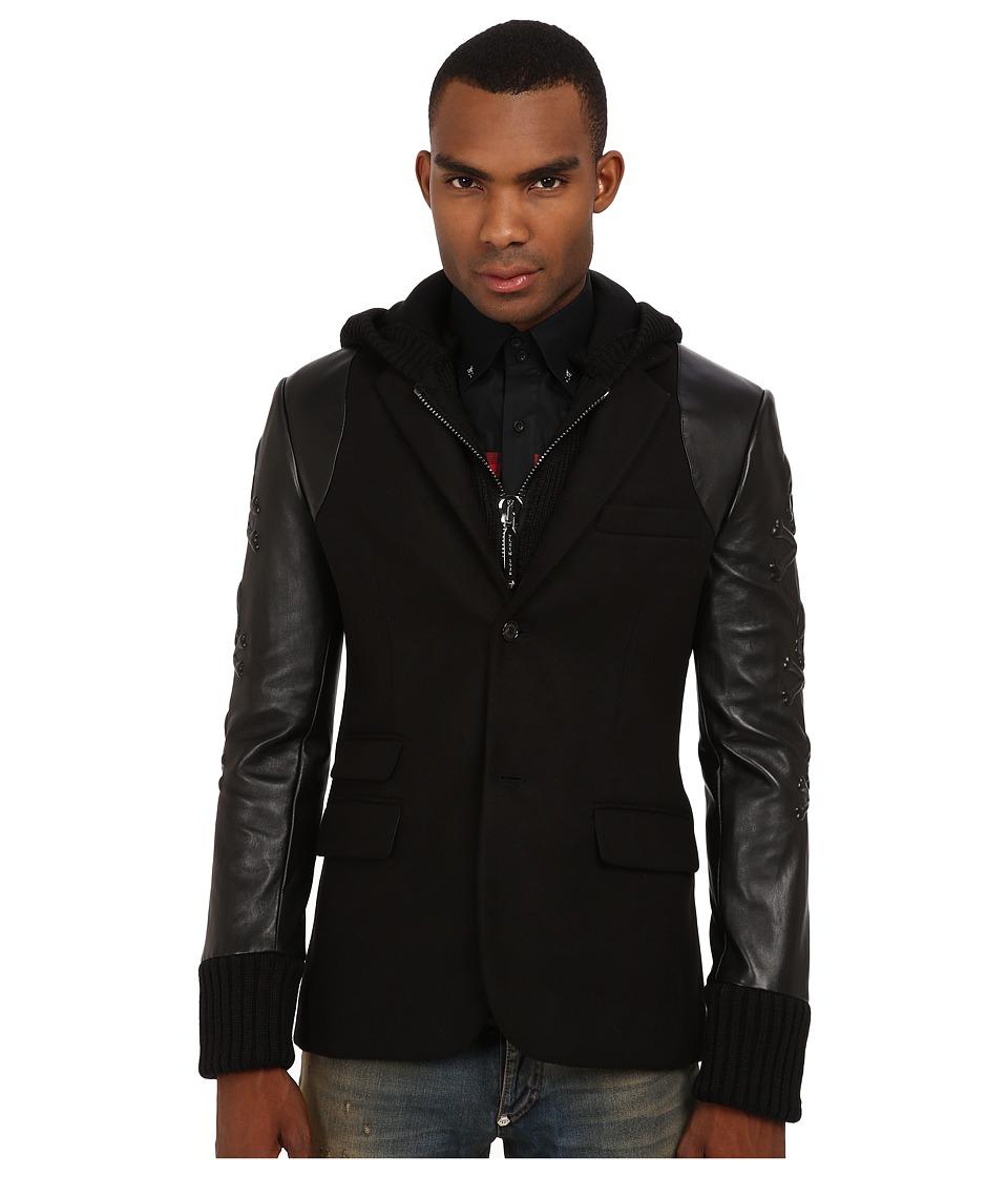 Philipp Plein - Shuffle Blazer (Black) Men's Jacket