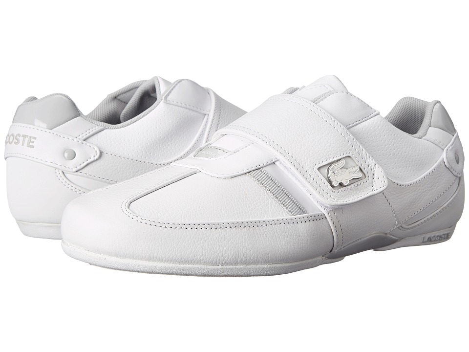 Lacoste - Protected Va (White/Light Grey) Men's Shoes