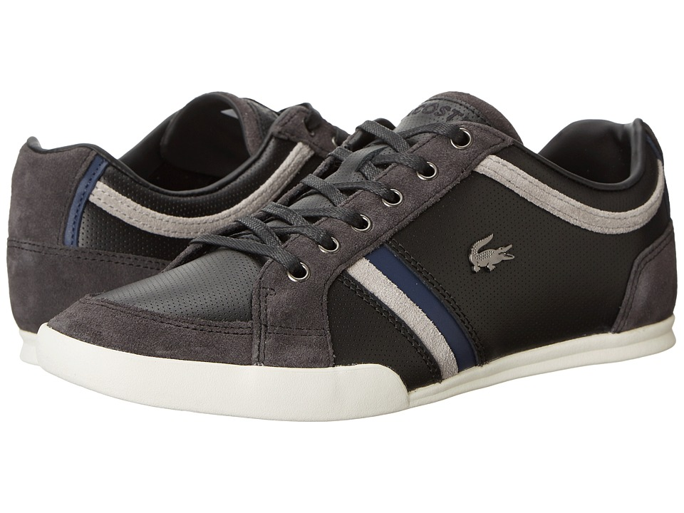 Lacoste - Rayford 6 (Black/Grey) Men's Shoes