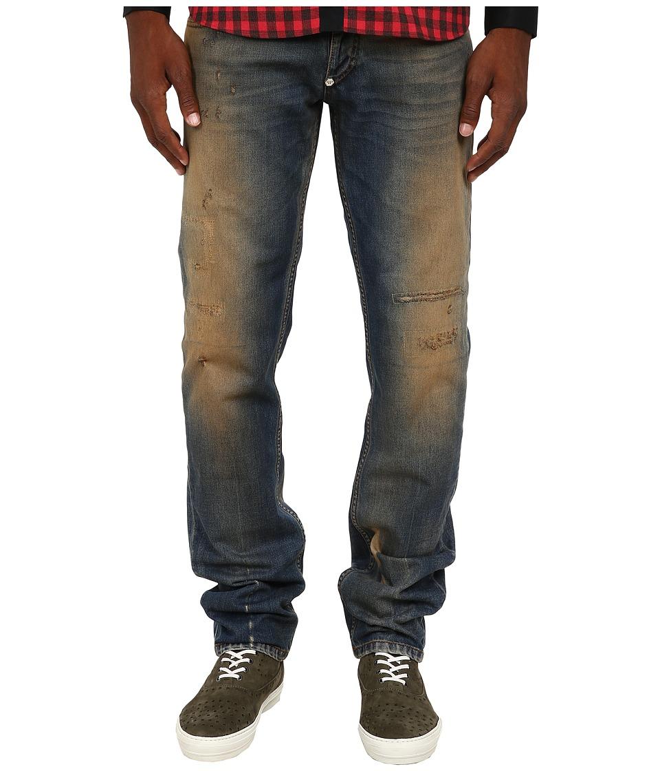 Philipp Plein - Cowboy Plate Jeans (Vintage Blue) Men's Jeans