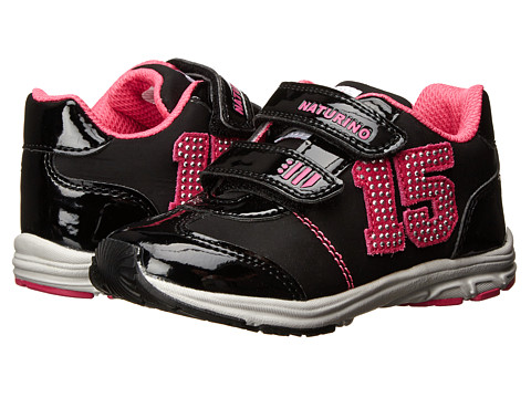 Naturino - Sport 460 FA14 (Toddler/Little Kid) (Black) Girl's Shoes