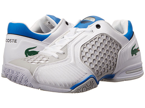 Lacoste - Repel Te (White/Blue) Men