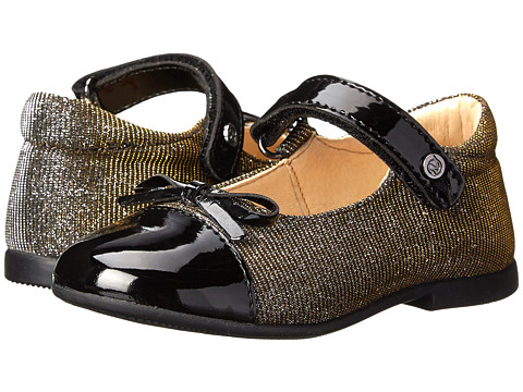 Naturino - 3664 FA14 (Toddler) (Black) Girls Shoes