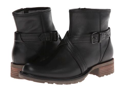 Sebago - Saranac Strap Low (Black Leather) Women