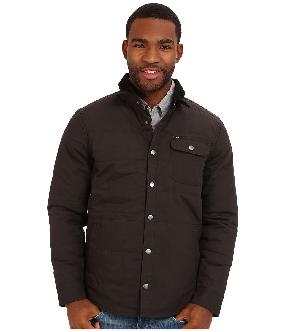 Brixton - Cass Jacket (Black/Black) Men's Jacket