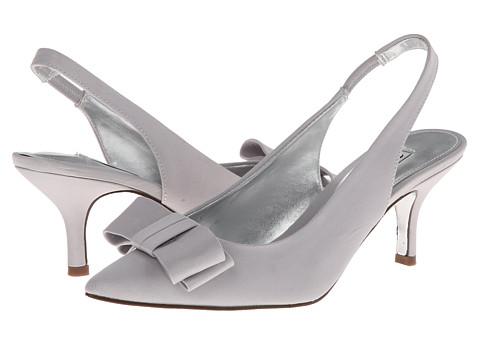 Nina - Beatrix (Silver Satin) High Heels