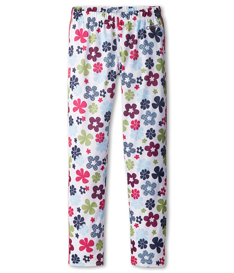 Hot Chillys Kids - Midweight Print Bottom (Little Kids/Big Kids) (Flower Power) Girl