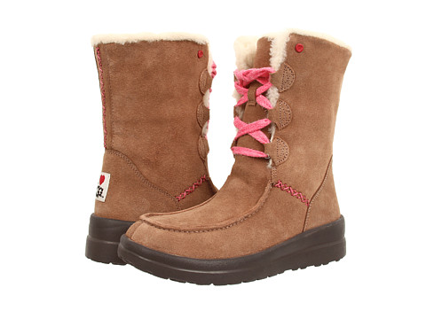 UGG - Lacy Short (Latte Suede) Women's Boots