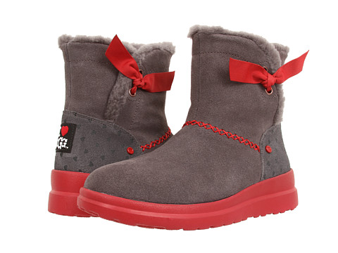 UGG - Knotty (Grey Hearts Suede) Women's Boots