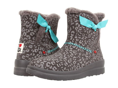 UGG - Knotty (Grey Leopard Suede) Women's Boots