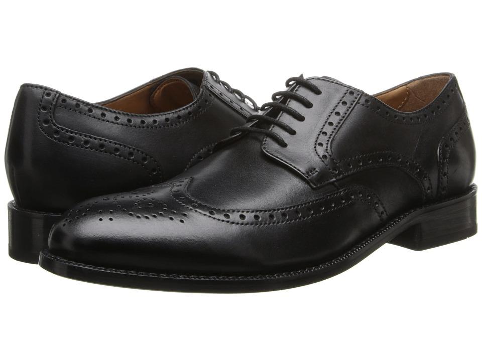 Bostonian - Calhoun Walk (Black Leather) Men