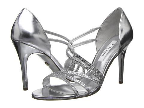 Nina - Coretta (Silver/Silver) High Heels