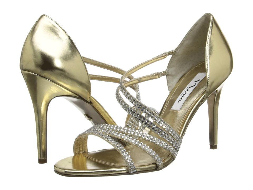 Nina - Coretta (Platino/Gold) High Heels