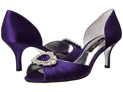 Nina - Crystah (Grape) High Heels