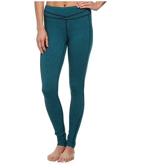Lucy - Hatha Legging (Juniper Geo Print) Women's Workout