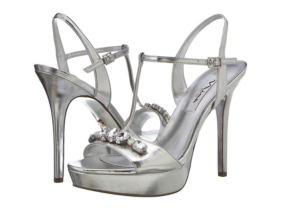 Nina Jada (Silver) High Heels