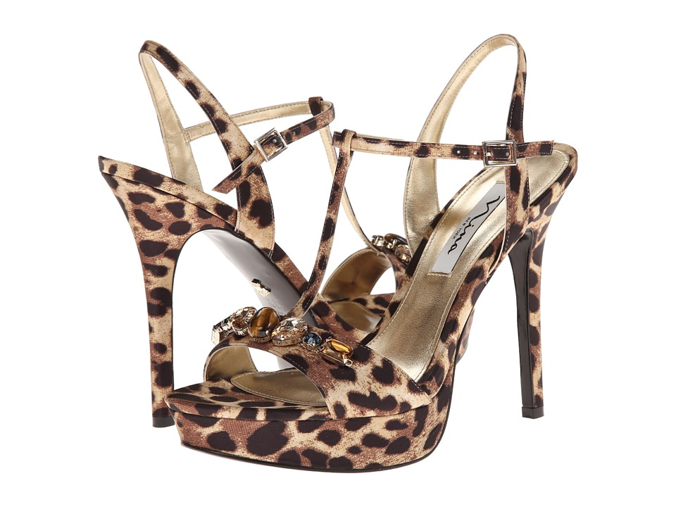 Nina - Jada (Natural Leopard) High Heels