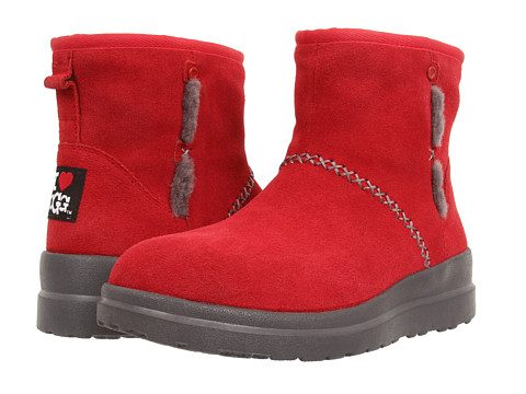 UGG - Kisses Mini (Hot Chili Suede) Women's Boots