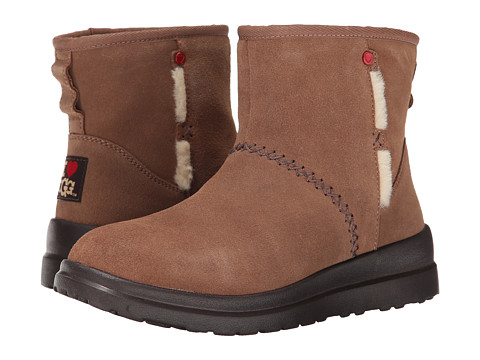 UGG - Kisses Mini (Latte Suede) Women
