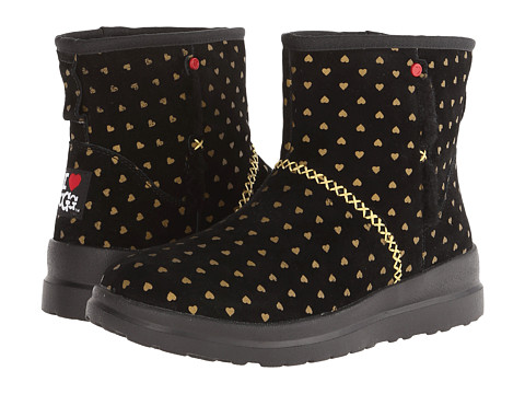 UGG - Kisses Mini (Gold Hearts Suede) Women